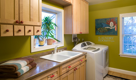 Home Renovation Updated Laundry Room
